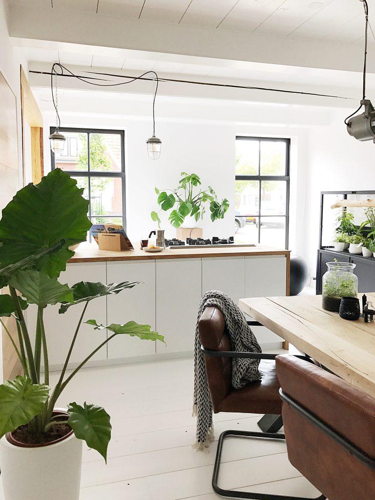 Een kijkje in onze nieuwe keuken!