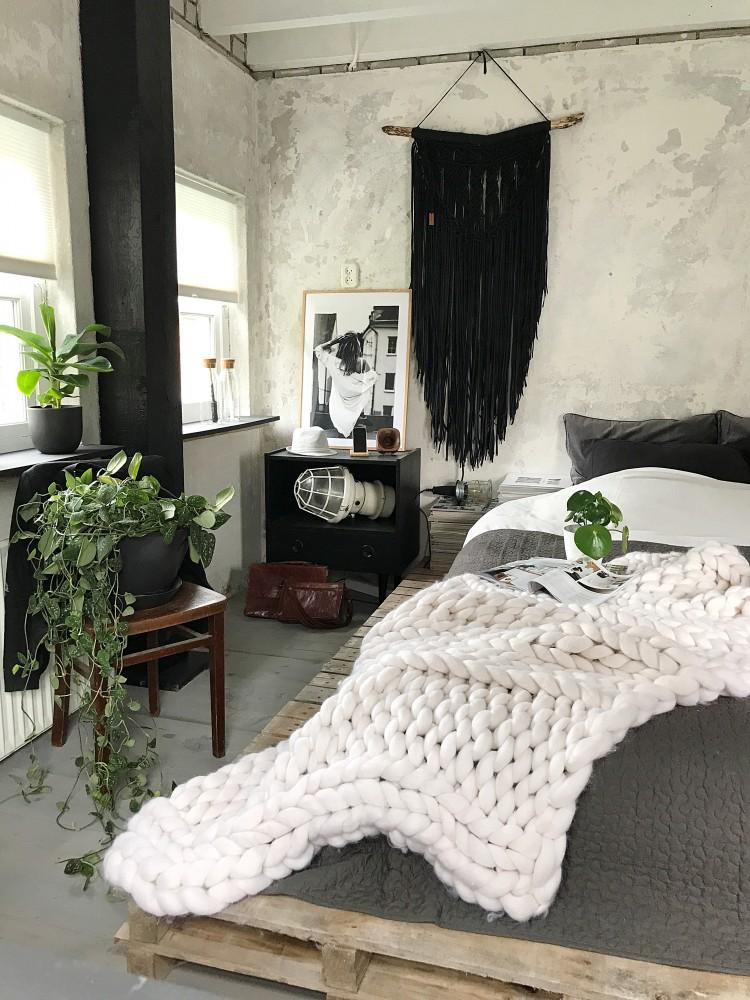 Jellina Detmar Interieur & Styling blog | Een industriële slaapkamer!
