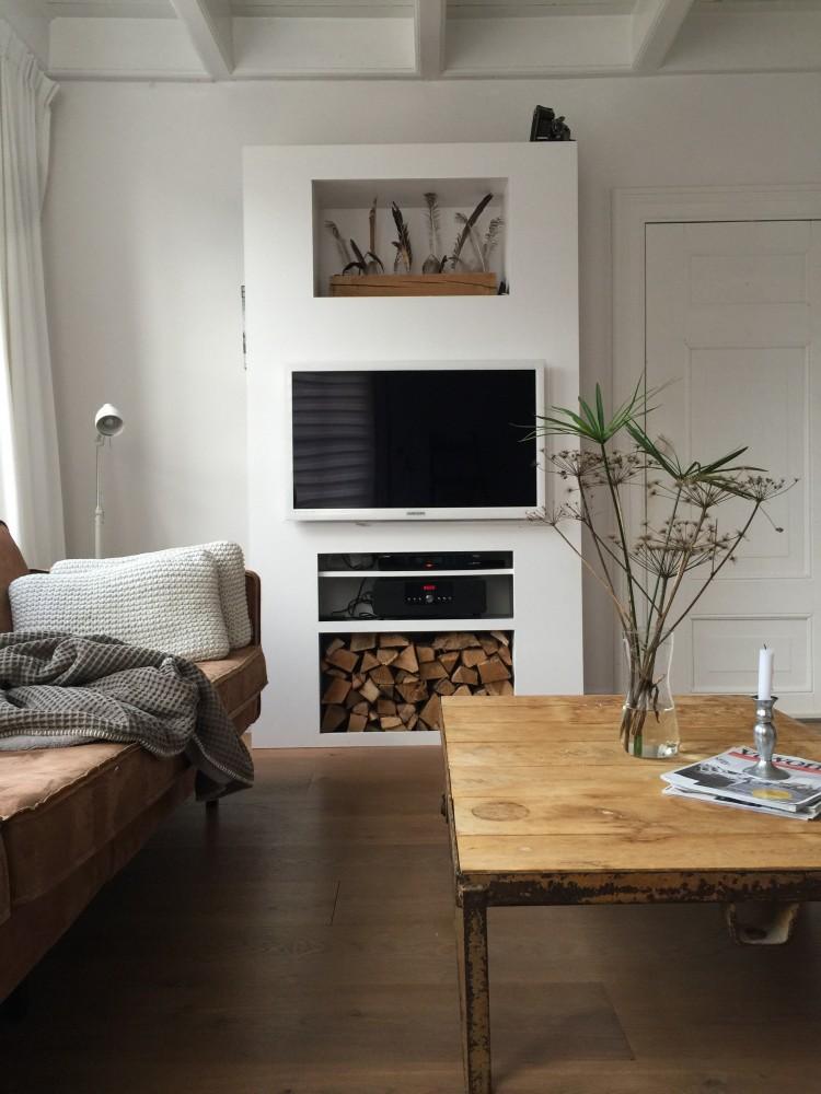 Een Tv Kast Zelf Maken Jellina Detmar Interieur Styling