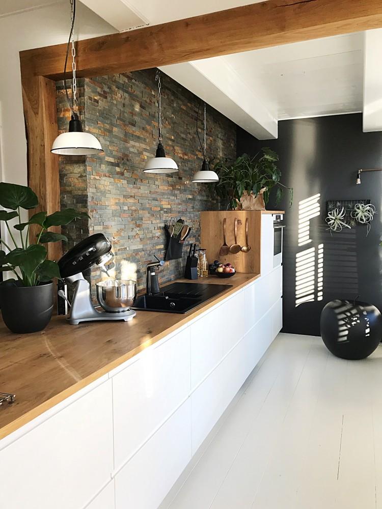 De keuken is een fijne plek in huis
