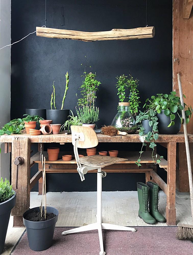 tuinwerkplek