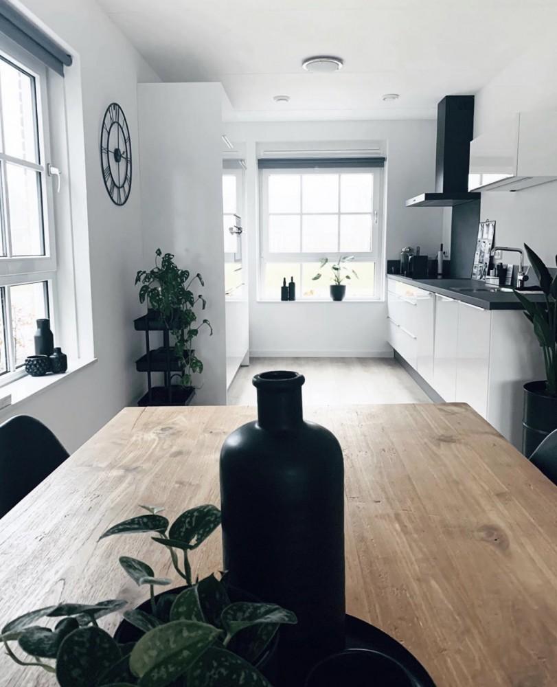 hoekwoning inspiratie keuken