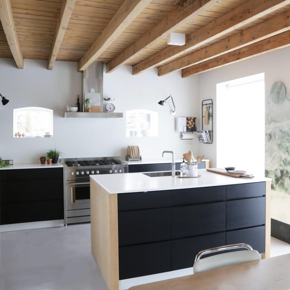 Woonboerderij kitchen
