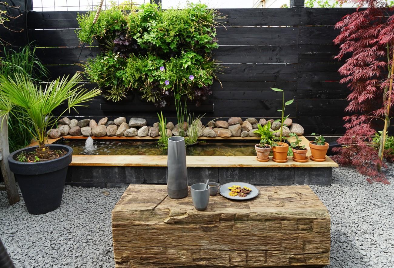urban jungle planten wand blog