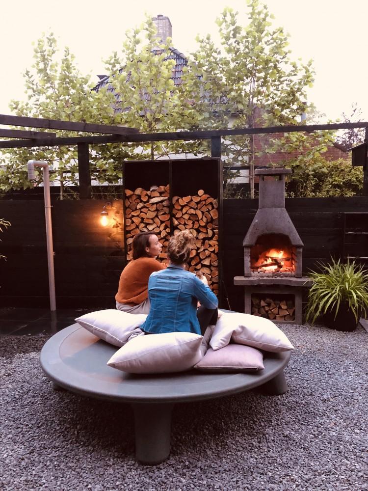 loungemeubel voor in de tuin
