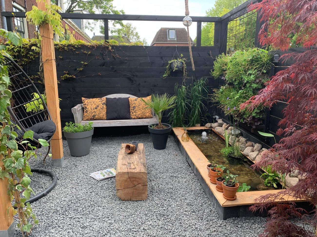 blog vier de zomer in eigen tuin