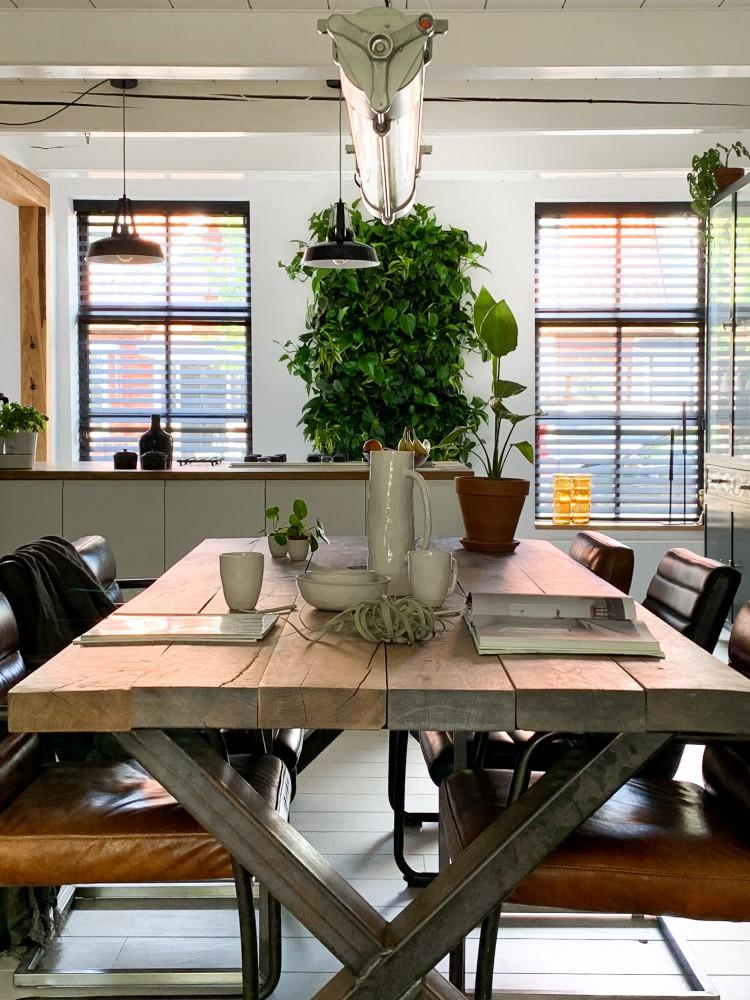 plantenwand keuken