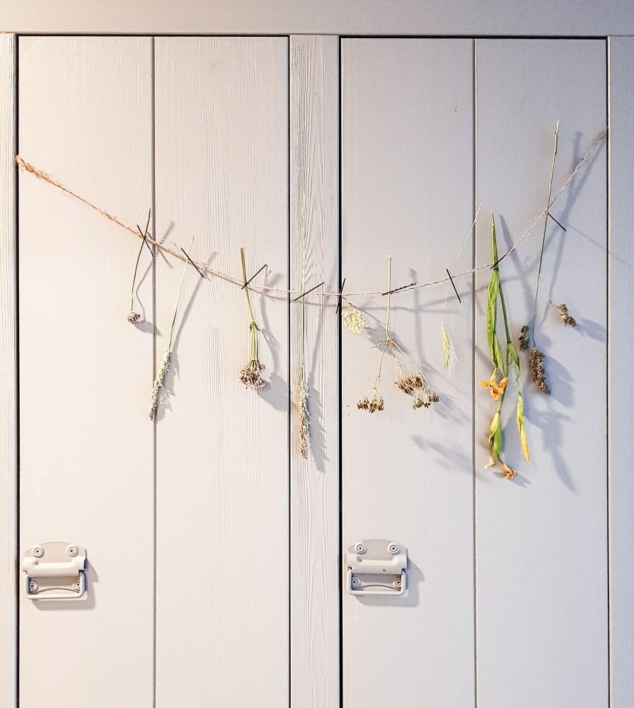 DIY droogbloemen