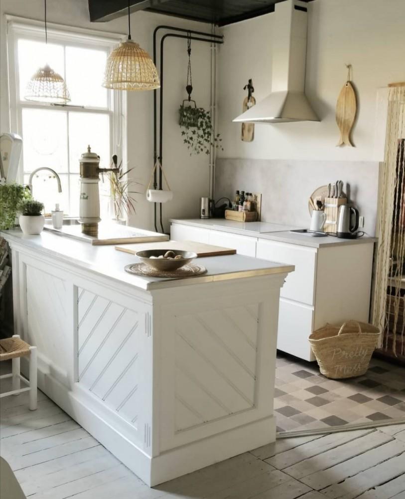 keuken met bar en tap