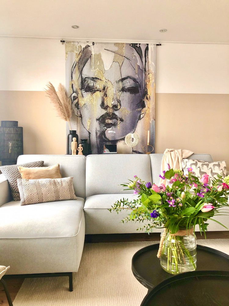 Livingroom, Binnenkijken bij een twee onder een kap woning!