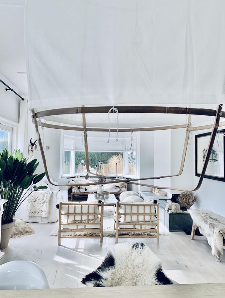 Wonen in een beachhouse! livingroom