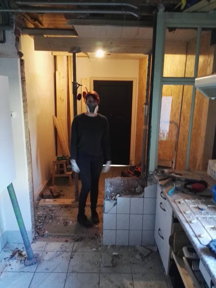 Verbouwing van de keuken!
