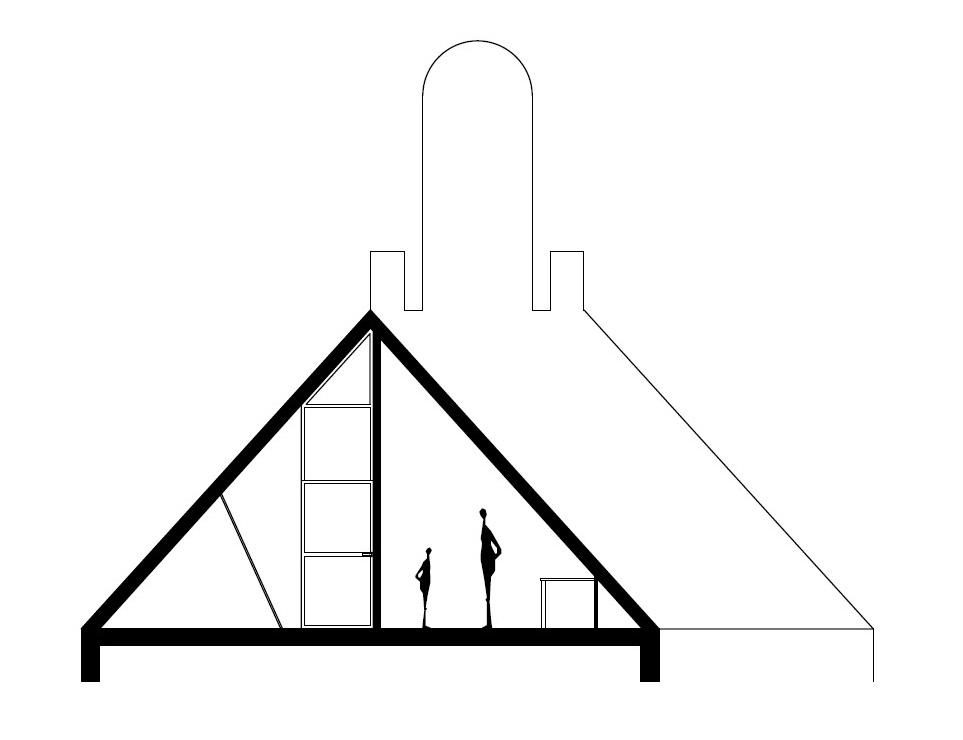het ontwerp van de wand