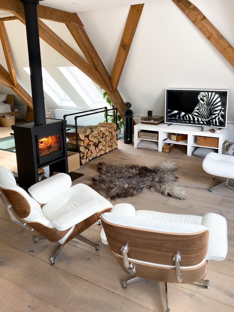 Warmte en gezelligheid bij de houtkachel!